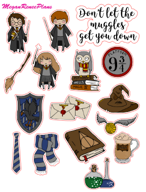 Harry Potter Inspired Mini Deco Quote Sheet