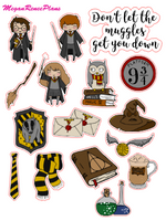 Harry Potter Inspired Mini Deco Quote Sheet - MeganReneePlans
