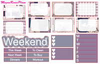 Winter Chill Weekly Kit for the Classic Happy Planner - MeganReneePlans