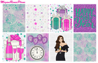 Happy New Year Weekly Kit for the Happy Planner Classic - MeganReneePlans