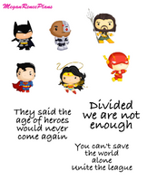 Justice League Inspired Mini Deco Quote Sheet - MeganReneePlans