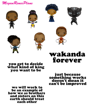 Black Panther Inspired Mini Deco Quote Sheet