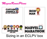 SUPERHERO Movie Watching List - MeganReneePlans