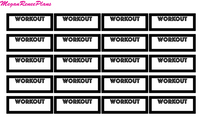 Workout quarter boxes - MeganReneePlans