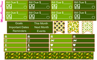 MARCH 2020 or 2021 ST PATRICKS THEME MONTHLY VIEW KIT FOR THE CLASSIC HAPPY PLANNER - MeganReneePlans