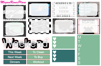 90s Grunge Themed Weekly Kit for the Erin Condren Vertical Life Planner - MeganReneePlans