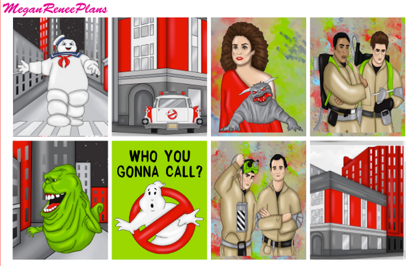 Ghostbusters - FULL BOXES ONLY - MeganReneePlans