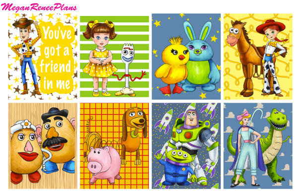 Toy Story - FULL BOXES ONLY - MeganReneePlans