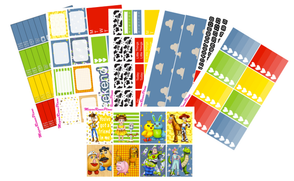 Toy Story Themed Weekly Kit for the Classic Happy Planner