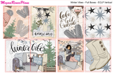 Winter Vibes Weekly Kit for the Classic Happy Planner - MeganReneePlans