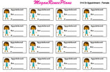 Doctor Appointment Male or Female Planner Stickers - MeganReneePlans