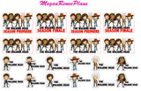 The Walking Dead Planner Stickers - MeganReneePlans