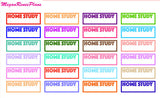 IEP Meeting School Appointment Home Study Stickers