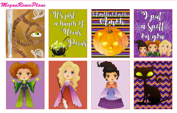 Hocus Pocus themed - FULL BOXES ONLY - MeganReneePlans