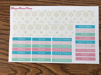 Nutcracker Themed Weekly Kit for the Classic Happy Planner