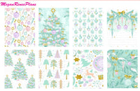 Merry & Bright / Christmas / Winter Theme - FULL BOXES ONLY - MeganReneePlans