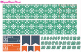 Winter Fox Weekly Kit for the Erin Condren Life Planner Vertical - MeganReneePlans