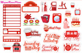 Sampler Sticker Sheet available in many colors