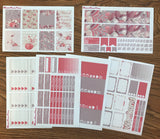 Fall Romance Weekly Kit for the Erin Condren Life Planner Vertical - MeganReneePlans