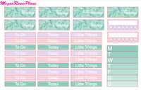 Merry and Bright Winter Weekly Kit for the Erin Condren Life Planner Vertical - MeganReneePlans