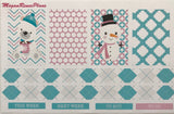Frosty Friends Weekly Planner Sticker Kit for The Happy Planner Classic - MeganReneePlans