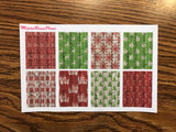 Vintage Christmas Weekly Kit for the Erin Condren Life Planner Vertical
