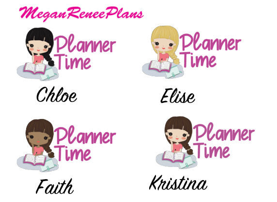 Planner Time / Planning Time Planner Stickers
