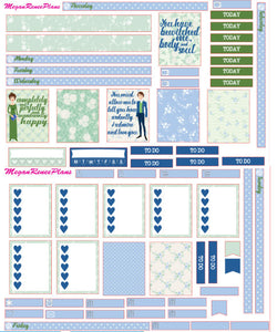 Pride and Prejudice Weekly Kit for the Mambi Mini Happy Planner