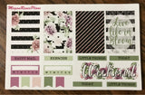 Life in Bloom Weekly Sticker Kit for the MAMBI Happy Planner Classic - MeganReneePlans