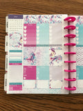 Let's Be Mermaids Weekly Matte Planner for the Classic Happy Planner
