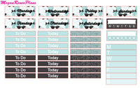 Breakfast at Tiffany's Inspired Weekly Planner Kit for the MAMBI Classic Happy Planner