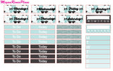 Breakfast at Tiffany's Inspired Weekly Planner Kit for the Erin Condren Vertical Life Planner - MeganReneePlans