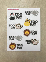 Zoo Day Mini Sheet - MeganReneePlans