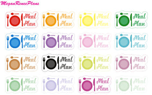Meal Plan / Meal Planning Functional Planner Stickers
