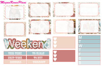 Wild & Free Boho Weekly Planner Kit for the Erin Condren Life Planner Vertical - MeganReneePlans