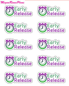 Early Release Mini Sheet