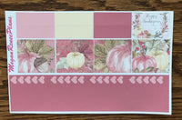 November 2018 Monthly Kit for the Erin Condren Life Planner or Classic Happy Planner - MeganReneePlans