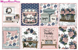 Farmhouse Chic Weekly Kit for the Erin Condren Life Planner Vertical