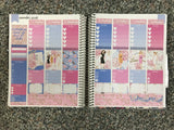 Sex and the City Weekly Kit for the Erin Condren Life Planner Vertical