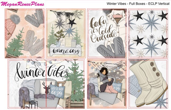 Winter Vibes - FULL BOXES ONLY - MeganReneePlans
