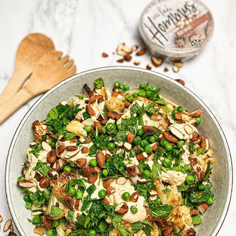 Roasted Cauliflower + Fennel Salad (makes 3-4 serves)