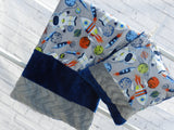 Child Strip Blanket Sets