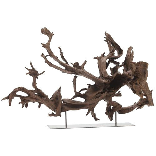 Unique tree root sculpture