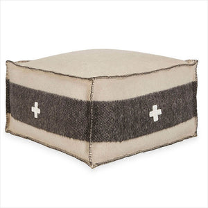swiss army pouf