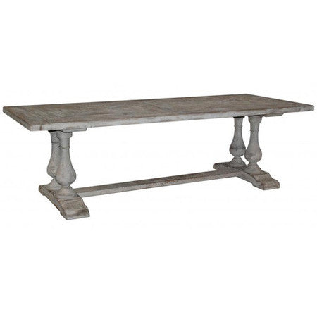 Reclaimed dining table with vintage look
