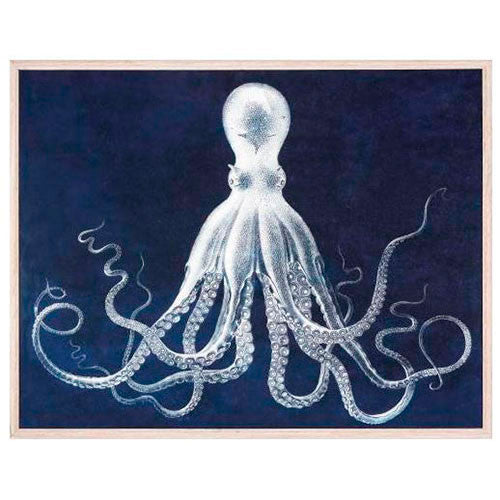 artwork with octopus
