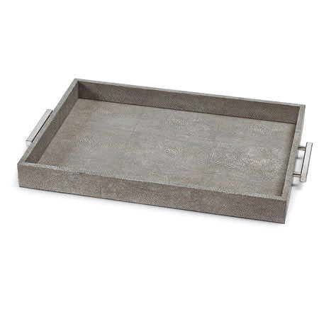 Charcoal grey tray