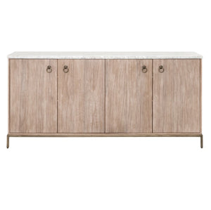 sideboard with marble top