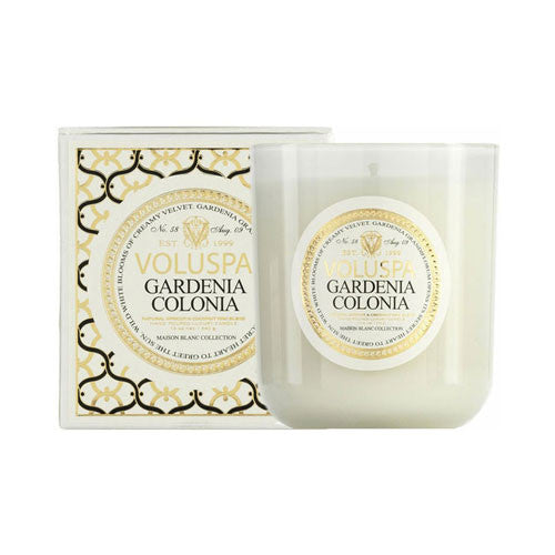 Gardenia Boxed Candle