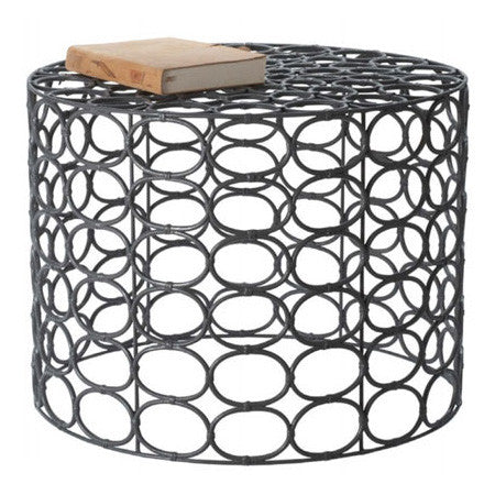 Round ring accent table